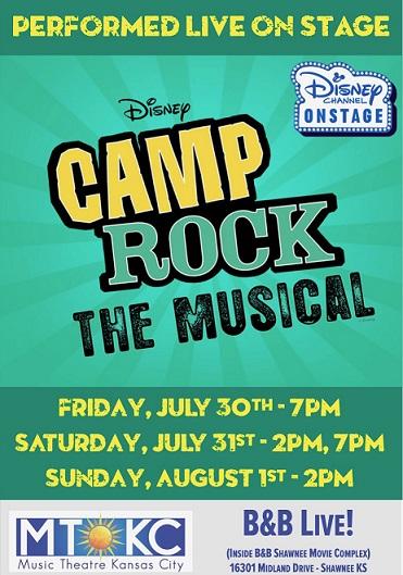 MTKC- Disney's Camp Rock Poster