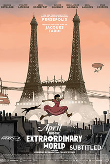 APRIL AND THE EXTRAORDINARY WORLD (SUBTITLED)