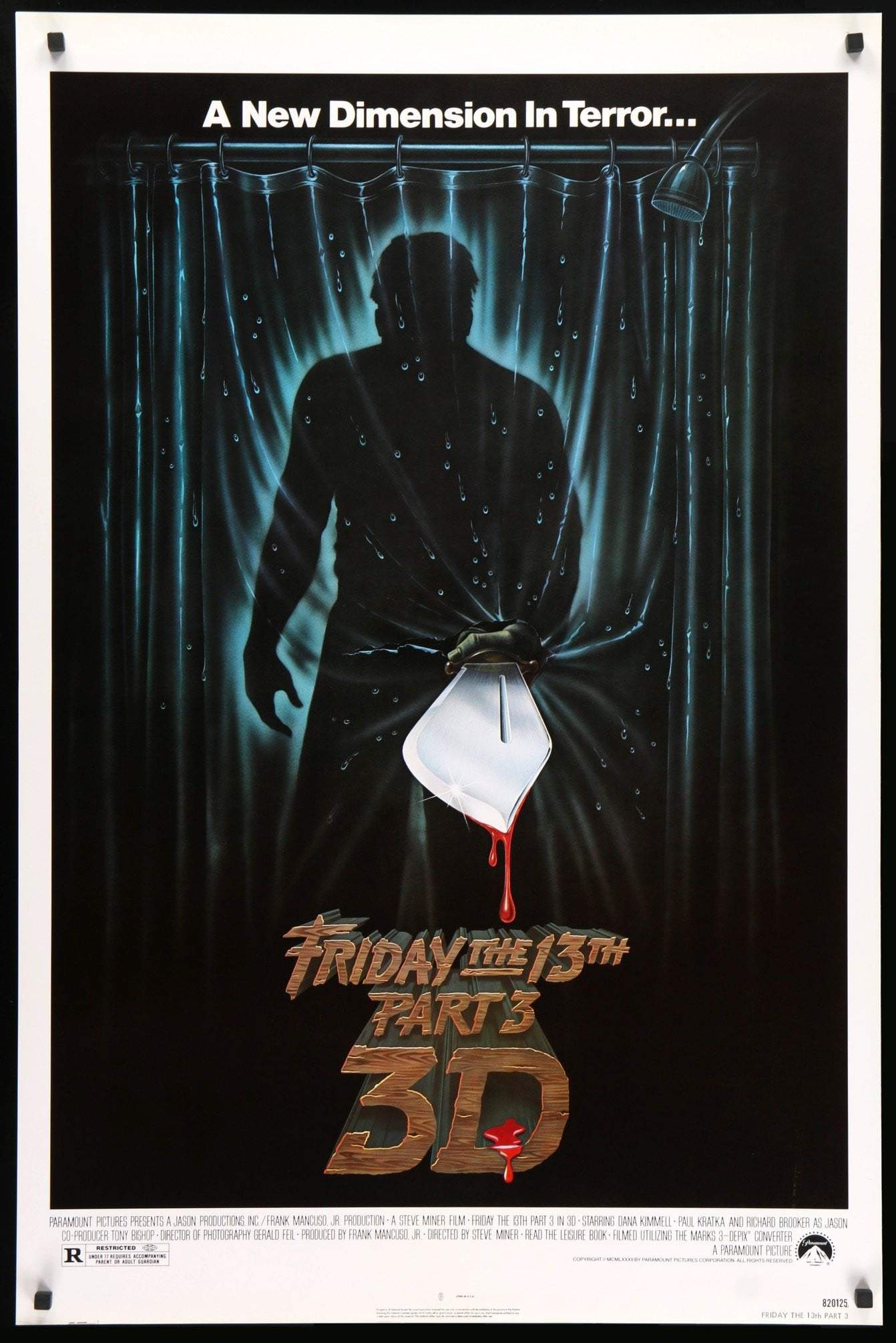 FRIDAY THE 13TH PART III in 3D (1982)  - PR